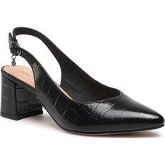 Sandały damskie Lasocki na średnim obcasie eleganckie na słupku