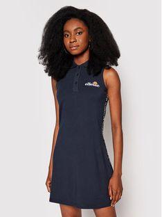 Ellesse Sukienka letnia Troph SGJ12894429 Granatowy Slim Fit