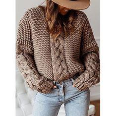 Sweter damski Sandbella jesienny
