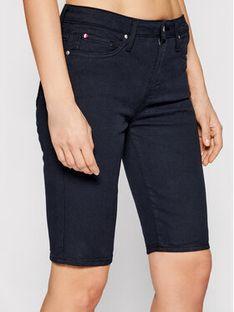Tommy Hilfiger Szorty jeansowe Venice WW0WW30531 Granatowy Slim Fit