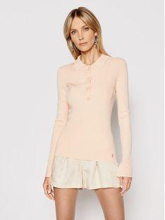 Patrizia Pepe Sweter 8M1137/A8M8-R711 Różowy Slim Fit