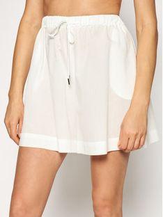 Max Mara Beachwear Szorty plażowe Fiamma 31410118 Biały Regular Fit