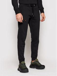 Superdry Spodnie dresowe Classic M7010094A Czarny Regular Fit