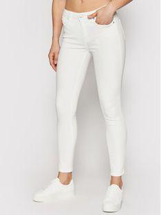 Calvin Klein Jeans Jeansy J20J215858 Biały Skinny Fit