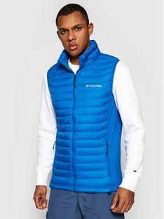 Columbia Kamizelka Powder Pass Vest 1842414 Granatowy Regular Fit