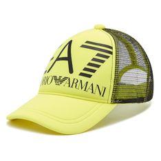 Czapka z daszkiem EA7 EMPORIO ARMANI - 274809 1P101 07483 Acid Lime