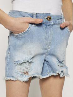 TwinSet Szorty jeansowe 201GJ2361 M Niebieski Regular Fit