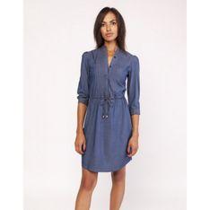Sukienka jeansowa ze stójką SUK154