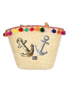 Pleciona beżowa torebka plażowa Verde16-0004705