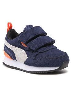 Puma Sneakersy R78 Sd V Inf 368591 02 Granatowy