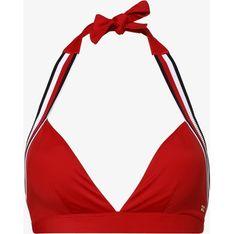 Strój kąpielowy Tommy Hilfiger czerwony casual do figury z małym biustem