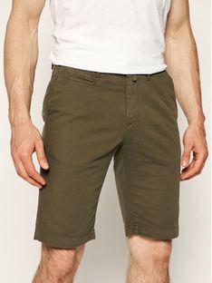 Pierre Cardin Szorty materiałowe 3465/2070 Zielony Tailored Fit