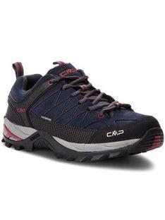 CMP Trekkingi Rigel Low Trekking Shoes Wp 3Q13247 Granatowy