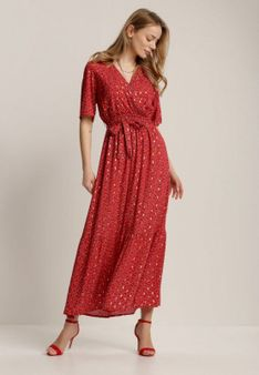 Czerwona Sukienka Mephine