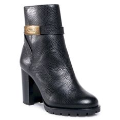 Botki TORY BURCH - 90mm Ankle Bootie 74355 Perfect Black 006