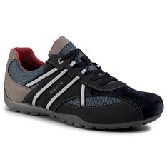 Sneakersy GEOX - U Ravex C U023FC 0AU14 C4458 Navy/Denim