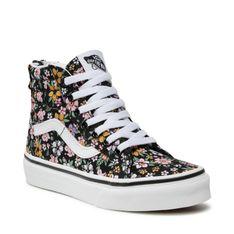Sneakersy VANS - Sk8-Hi Zip VN0A4BUX99D1 (Fun Floral) Black/Tr Wht