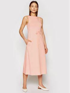 Marella Sukienka codzienna Autobus 36210115200 Różowy Regular Fit