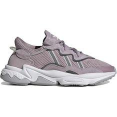 Buty sportowe damskie Adidas skórzane sznurowane