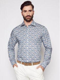 Eton Koszula 100002213 Niebieski Slim Fit