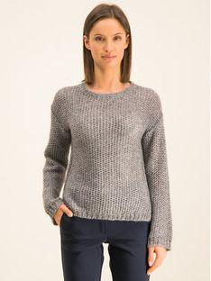 Marella Sport Sweter Cicala 33660699 Szary Regular Fit