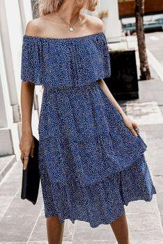Sukienka PALEDA NAVY