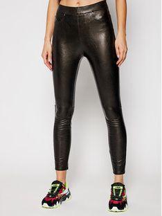 SPANX Spodnie skórzane Leather-Like 20282R Czarny Skinny Fit
