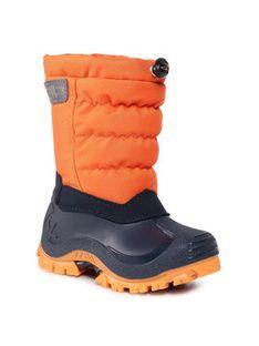 CMP Śniegowce Kids Hanki 2.0 30Q4704K Pomarańczowy