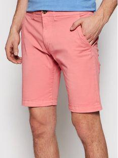 Pepe Jeans Szorty materiałowe Mc Queen Różowy Regular Fit
