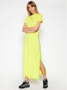 Nike Sukienka codzienna Icon Clash DC5290 Żółty Tight Fit