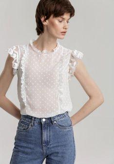 Biała Bluzka Asilaeno