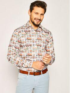Eton Koszula 100000768 Kolorowy Slim Fit