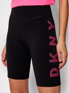 DKNY Sport Szorty sportowe DP0S4715 Czarny Slim Fit
