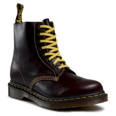 Glany DR. MARTENS - 1460 Pascal 26243601 Oxblood