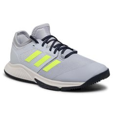 Buty adidas - Court Team Bounce M FZ2614 Halsil/Hireye/Halblu