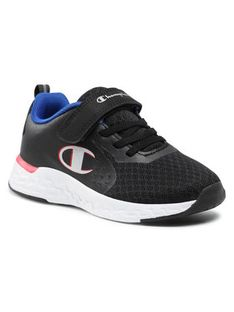 Champion Sneakersy Low Cut Shoe Bold B Ps S32123-S21-KK002 Granatowy