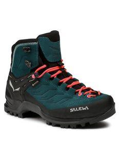 Salewa Trekkingi Ws Mtn Trainer Mid Gtx GORE-TEX 63459 8550 Niebieski