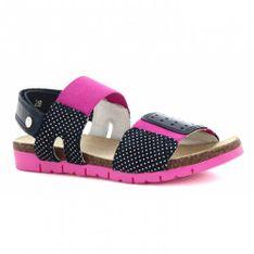 Sandały Bartek T-16169/03L, Dla Dziewcząt, Granatowo-Różowy