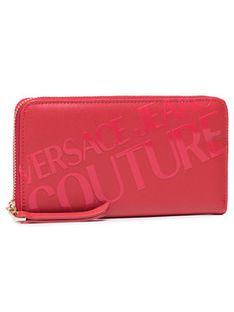 Versace Jeans Couture Duży Portfel Damski E3VWAPA1 Czerwony