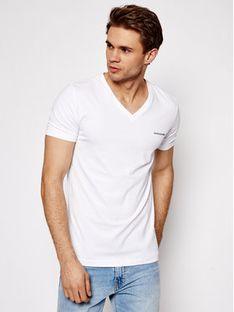 Calvin Klein Jeans T-Shirt J30J318068 Biały Regular Fit