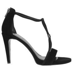 Wojas Pełne Elegancji Czarne Damskie Sandały Na Szpilce