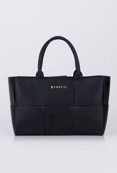 Minimalistyczna pleciona torba