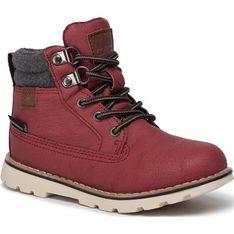 Cmp buty zimowe dziecięce wiązane gładkie