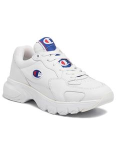 Champion Sneakersy Cw-1 Leather S10627-F19-WW001 Biały