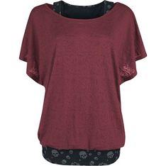 Bluzka damska z krótkimi rękawami z okrągłym dekoltem