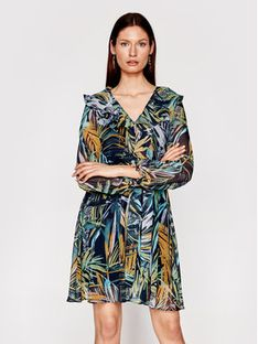 Marella Sukienka codzienna Cicoria 32212711 Kolorowy Regular Fit