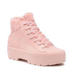 Botki MELISSA - Fluffy Sneaker Ad 33318 Light Pink 01373