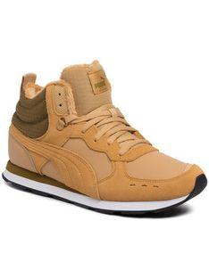 Puma Sneakersy Vista Mid Wtr 369783 03 Żółty
