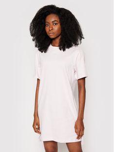 adidas Sukienka codzienna Tennis Luxe Tee H56459 Różowy Relaxed Fit