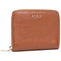 Duży Portfel Damski DKNY - Bryant-Sm Zip Around R8313656 Caramel 237